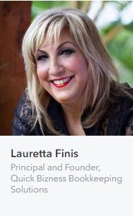 Lauretta Finis | Quickbooks Online Melbourne Specialist